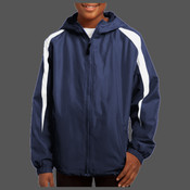 Dragons Youth Fleece Lined Colorblock Jacket
